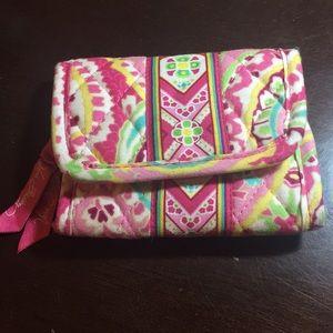 Vera Bradley foldable wallet
